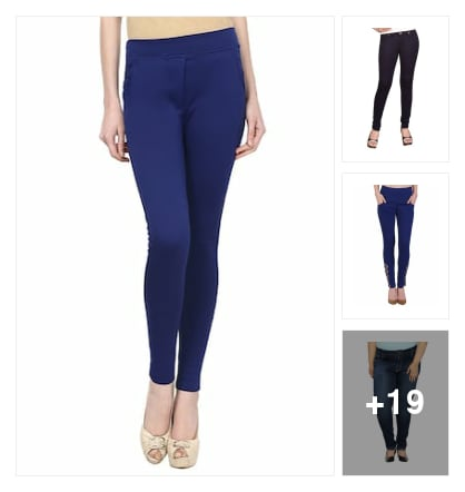Jean's and jeggings . Online shopping look by keerthi