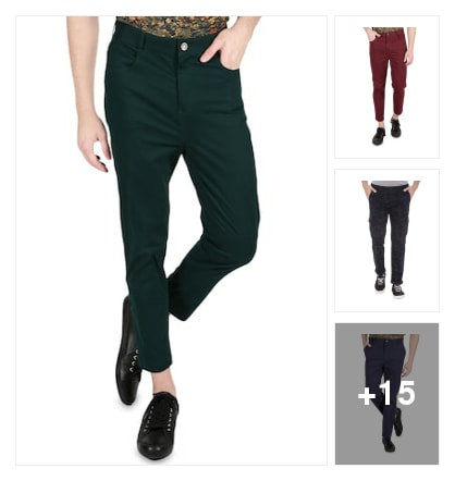Casual trousers. Online shopping look by KANTHA