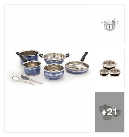 Cook ware. Online shopping look by KANTHA