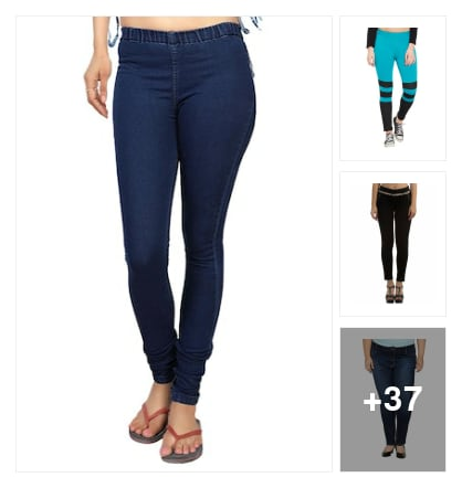 Trending now :: cute jeans look. Online shopping look by kavita