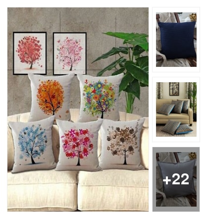 Cushions. Online shopping look by sujatha