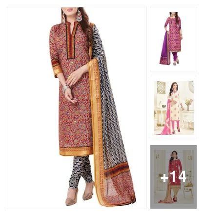 Wardrobe essential :- under 999/- suits. Online shopping look by Kinki