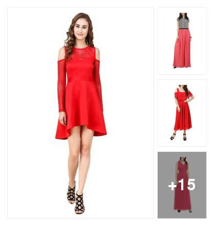Dresses for girls. Online shopping look by Krish  ♥  Stylish