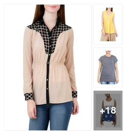 Trendy fashion tops. Online shopping look by Krish  ♥  Stylish