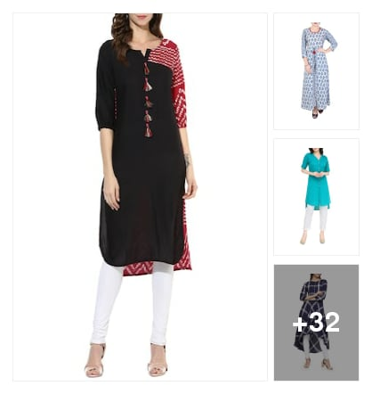 Love this kurtas. Online shopping look by Vini