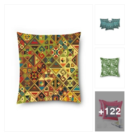 Cushion covers. Online shopping look by sravani