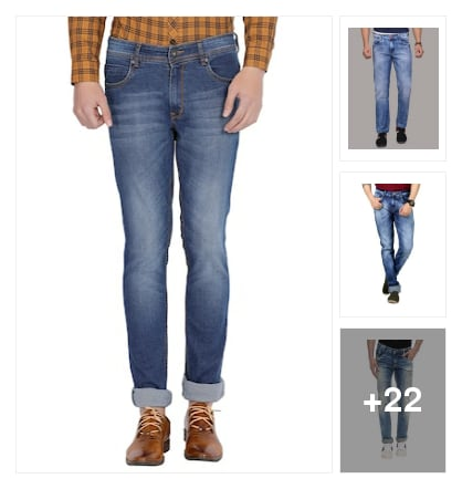Jeans collection. Online shopping look by vikas