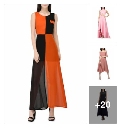 Wonderful dresses for you. Online shopping look by ramakrishna