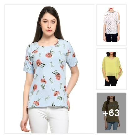 tops. Online shopping look by sunitha