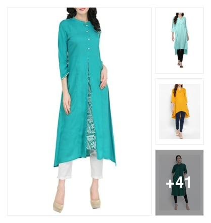 Solid. Online shopping look by kalpana