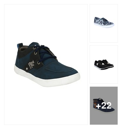 Casual shoes for men's. Online shopping look by Kriti