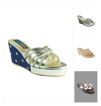 Slip On Wedges!. Online shopping look by kalpana