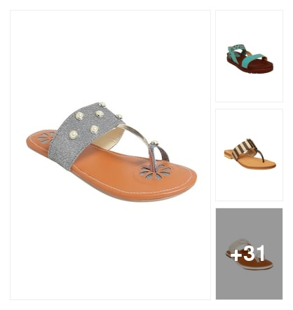 Best Flats For ladies. Online shopping look by ARJUN