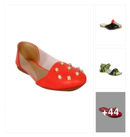 FLATS FOR LADIES. Online shopping look by narayan