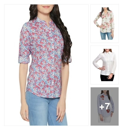 Shirts for ladies. Online shopping look by vyshu