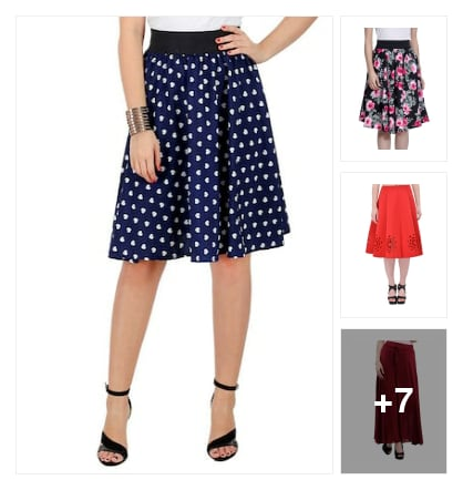 Excellent skirts. Online shopping look by vyshu