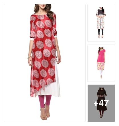Kurtas. Online shopping look by Ruchi