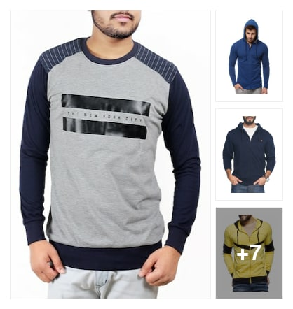 Branded sweatshirts. Online shopping look by vyshu