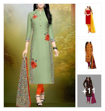 Trending suit. Online shopping look by kavita