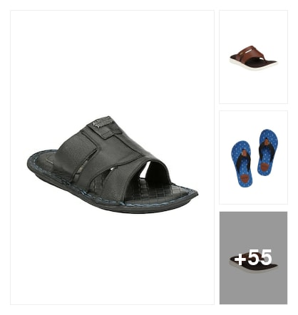 slipper n flipflop for boys. Online shopping look by Sandhya