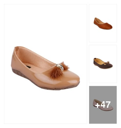 Flats. Online shopping look by Teju