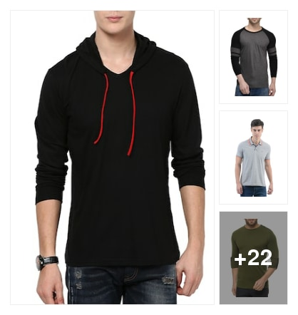 Causal Tshirts. Online shopping look by kumar