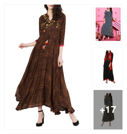 Trend alert: flared Kurtis that you love....must watch!!!👌. Online shopping look by Taniya