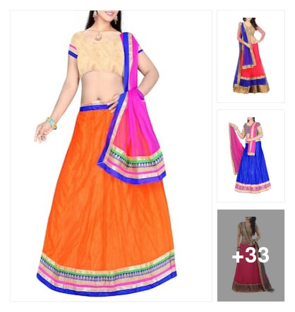 Lehengas @ 999. Online shopping look by sree
