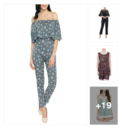 Jumpsuits for beautiful ladies. Online shopping look by K.anitha
