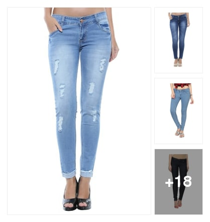 Jeans. Online shopping look by chandhana