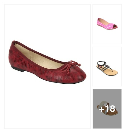 Flats for you. Online shopping look by Bhavisyareddy