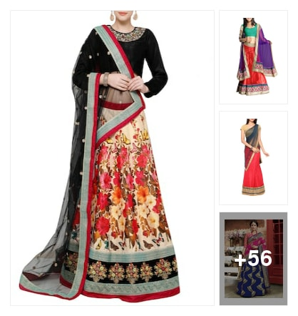 beautiful lehengas collection. Online shopping look by maga