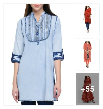 kurtas for you. Online shopping look by maga