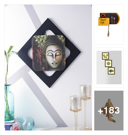 Home decor. Online shopping look by sravani