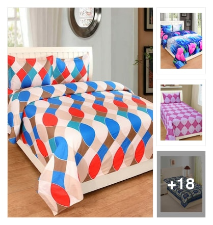 Bedsheets. Online shopping look by keerthi
