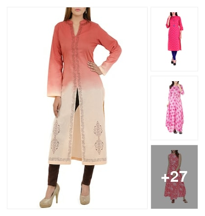 Because it's all about  pinks.. Online shopping look by Varsha ji