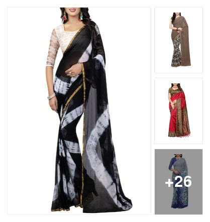 Nice sarees collection. Online shopping look by lahari