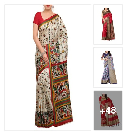 Traditional look. Online shopping look by jyothi