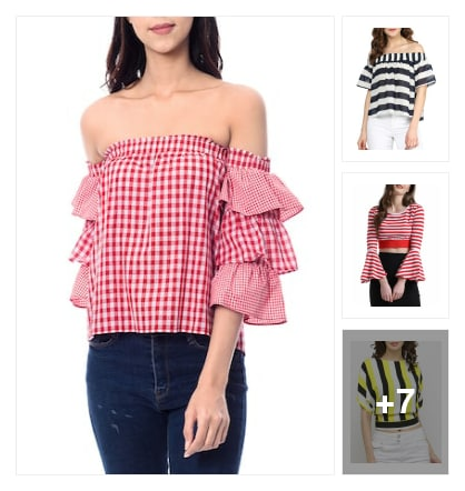 Cool Tops For Hot Summers. Online shopping look by Sunehri