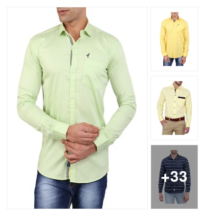 Perfect Shirts For Mens . Online shopping look by BinduGupta