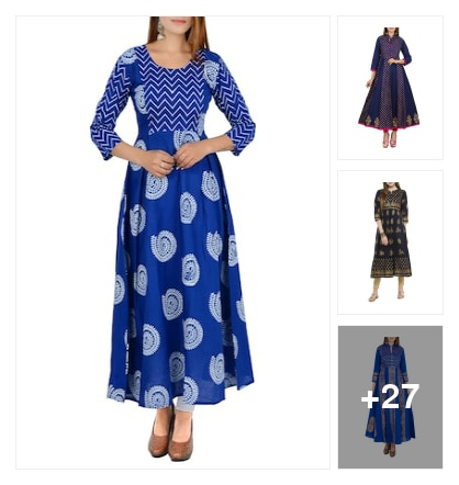 Anarkali kurta guys . Online shopping look by Reena