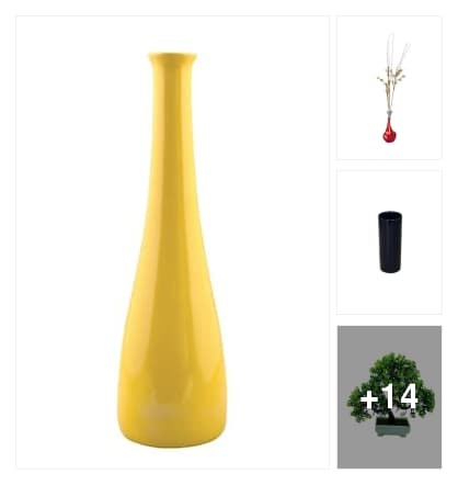 Flower vases. Online shopping look by sangeetha