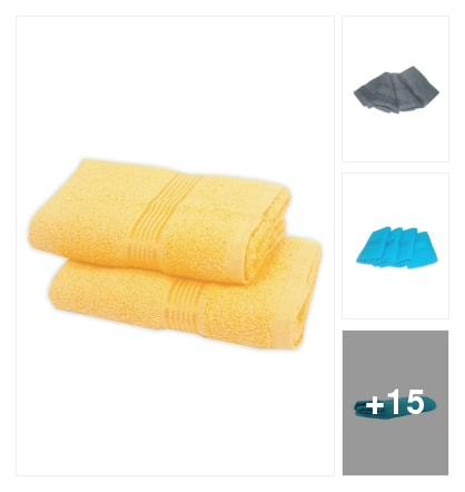 Bath towels. Online shopping look by sangeetha