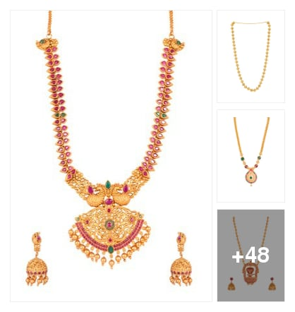 trendy neckpieces. Online shopping look by chandra