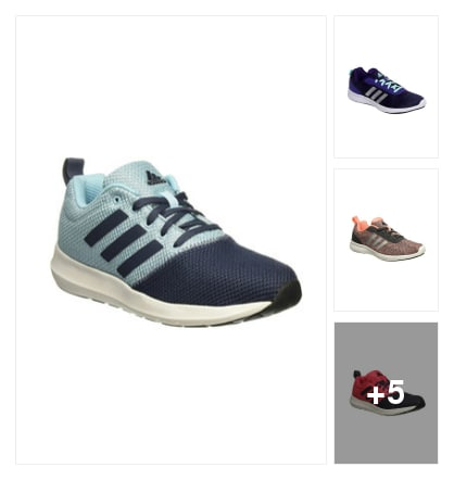 Adidas Women Sports Shoes. Online shopping look by Ruppi