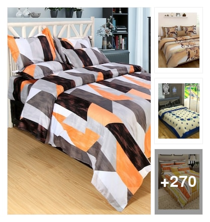 new new fresh single&double bedsheets. Online shopping look by Kumar