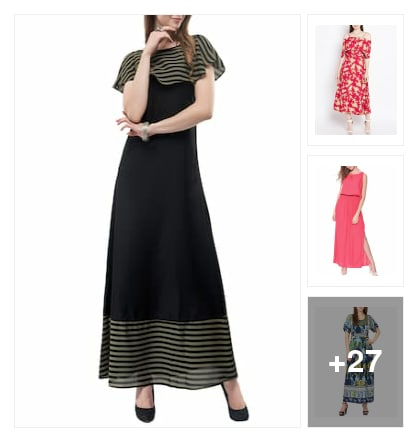 dress for you. Online shopping look by Abhinav