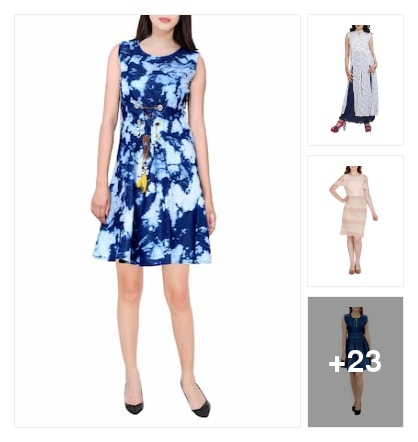 Decent dresses. Online shopping look by kavya