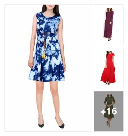 Dresses. Online shopping look by KANTHA
