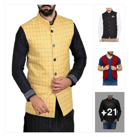 Jackets for men. Online shopping look by vikas